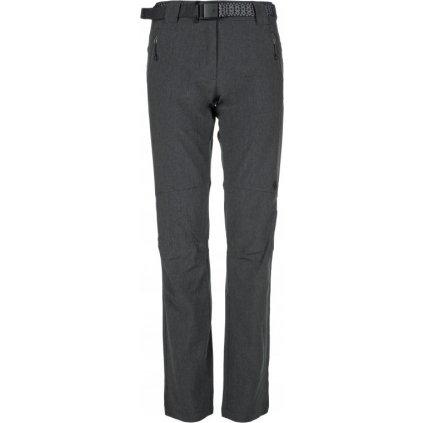 Dámské outdoorové kalhoty KILPI Wanaka-w tmavě šedá