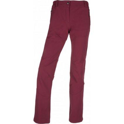 Dámské outdoor kalhoty KILPI Lago-w tmavě červená