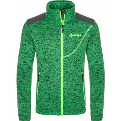 Chlapecká fleecová mikina KILPI Regin-jb zelená