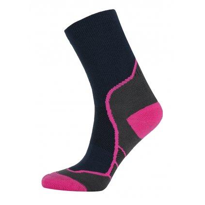 Outdoorové ponožky KILPI Karito-u růžová