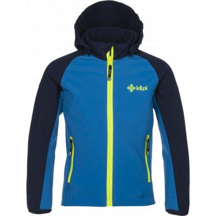 Chlapecká softshellová bunda KILPI Elio-j modrá
