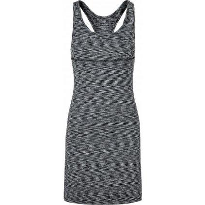 Dámské elastické šaty KILPI Sonora-w světle šedá