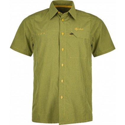 Pánská sportovní košile KILPI Bombay-m žlutá