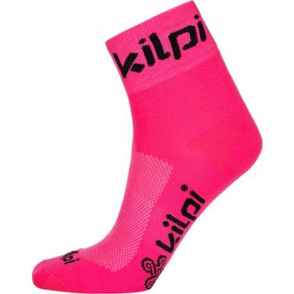Sportovní ponožky KILPI Refton-u růžová