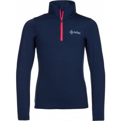 Dětské funkční tričko KILPI Wilke-j tmavě modrá