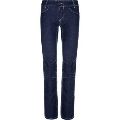 Dámské volnočasové kalhoty KILPI Danny-w tmavě modrá