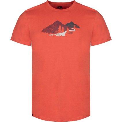 Pánské triko LOAP Belmount oranžová