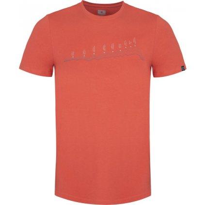 Pánské triko LOAP Benedict oranžová