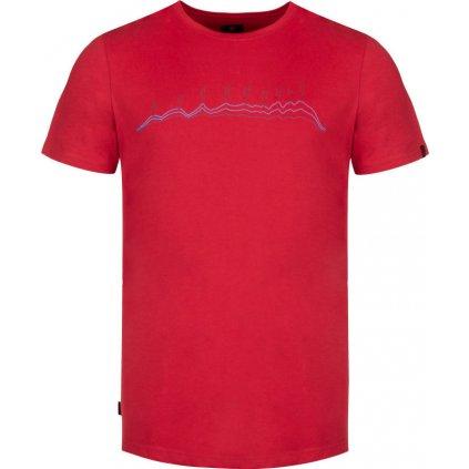 Pánské triko LOAP Benedict červená
