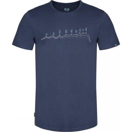 Pánské triko LOAP Benedict modrá