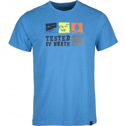 Pánské bavlněné tričko KILPI Toby-m modrá