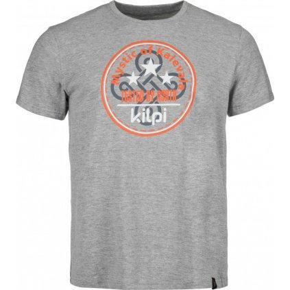Pánské bavlněné tričko KILPI Mystic-m tmavě šedá