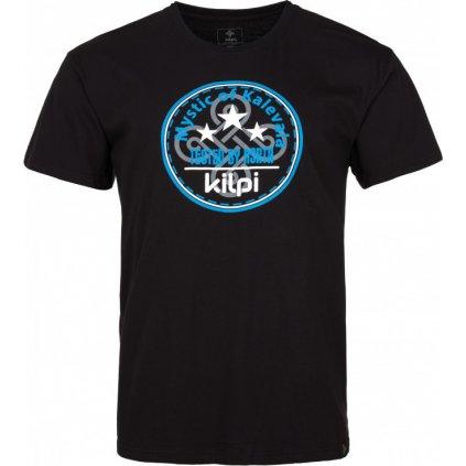 Pánské bavlněné tričko KILPI Mystic-m černá