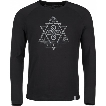 Pánské bavlněné tričko KILPI Piqar-m černá