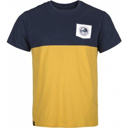 Pánské bavlněné tričko KILPI Arec-m žlutá