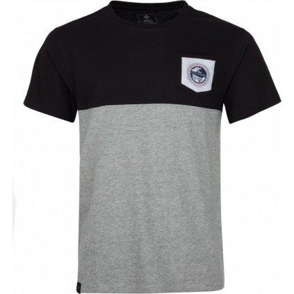 Pánské bavlněné tričko KILPI Arec-m černá