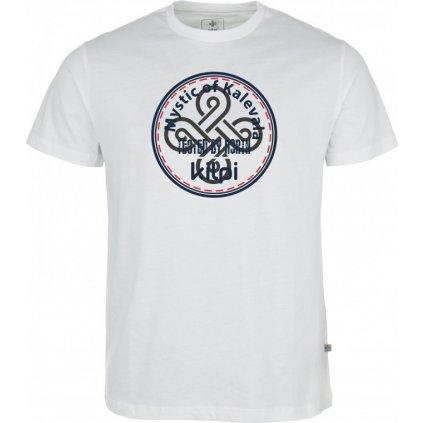 Pánské bavlněné tričko KILPI Mystic-m bílá