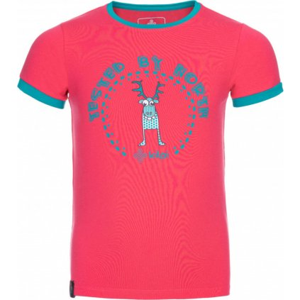 Dětské tričko KILPI Mercy-jg růžová