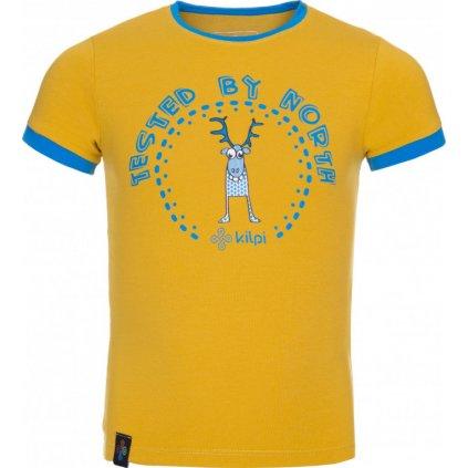 Chlapecké tričko KILPI Mercy-jb žlutá