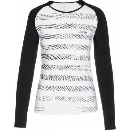 Dámské bavlněné tričko KILPI Gaia-w bílá