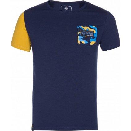 Chlapecké tričko KILPI Vivan-jb tmavě modrá