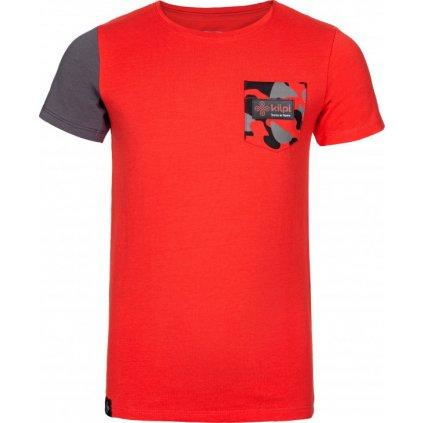 Chlapecké tričko KILPI Vivan-jb červená