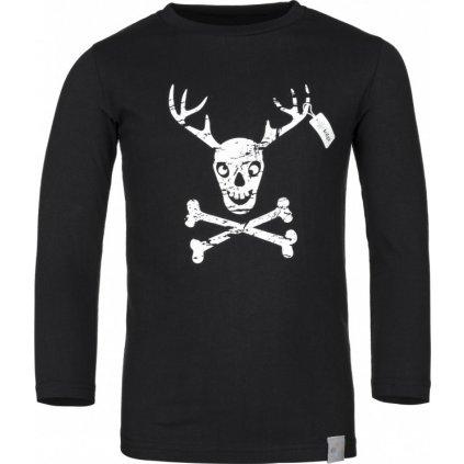 Chlapecké bavlněné tričko KILPI Hardy-jb černá