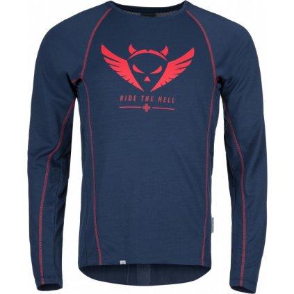 Pánské funkční tričko KILPI Explosion-m tmavě modrá