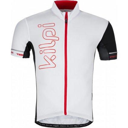 Pánský cyklodres KILPI Elyon-m bílá