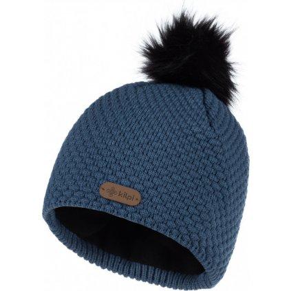 Dámská pletená čepice KILPI Alpina-w modrá