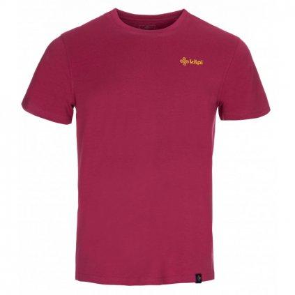 Pánské tričko KILPI Wings-m tmavě červená