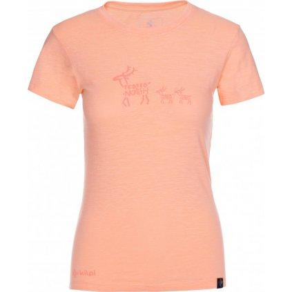 Dámské tričko KILPI Barka-w světle červená