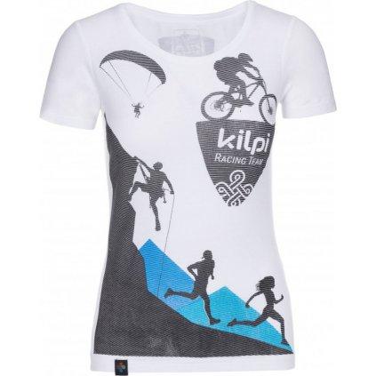 Dámské tričko KILPI Temy-w bílá