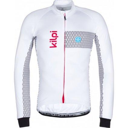 Pánský cyklistický dres KILPI Campos-m bílá