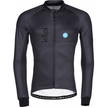 Pánský cyklistický dres KILPI Campos-m tmavě šedá
