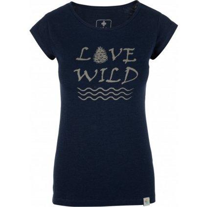 Dámské tričko KILPI Flori-w tmavě modrá