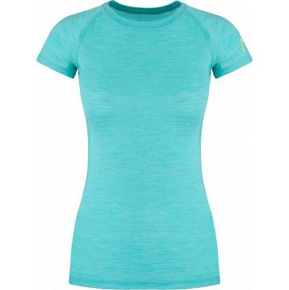 Dámské termo triko ZAJO Elsa Merino W T-shirt SS modrá