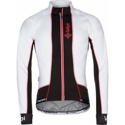 Pánská cyklistická bunda KILPI Zain-m bílá