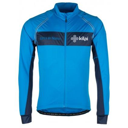Pánský cyklo dres KILPI Zester-m modrá