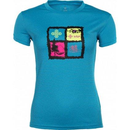 Dámské funkční tričko KILPI Giacinto-w modrá