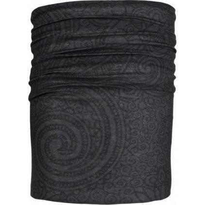 Univerzální šátek KILPI Bebeh-u tmavě šedá