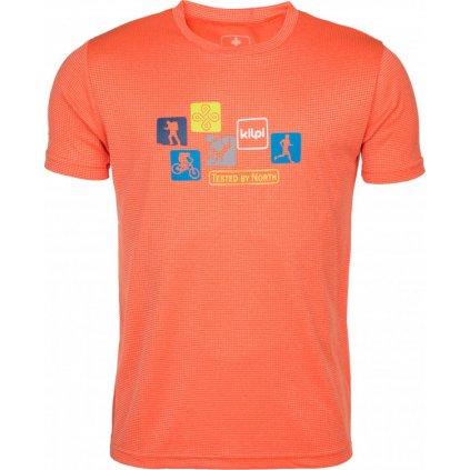 Pánské funkční tričko KILPI Giacinto-m oranžová
