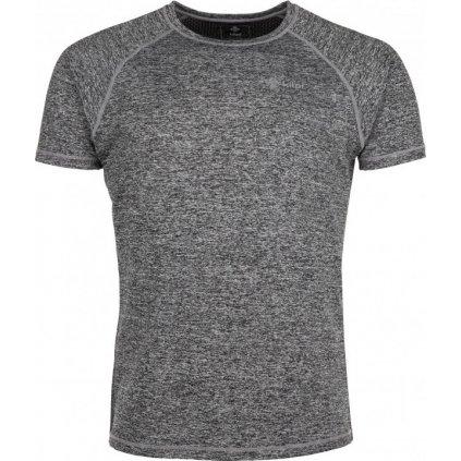 Pánské tričko KILPI Border-m tmavě šedá