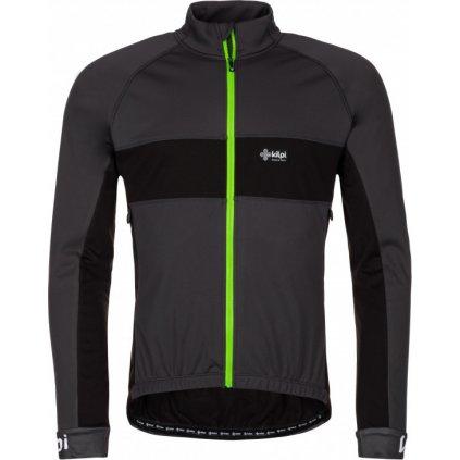 Pánská cyklistická bunda KILPI Orlandi-m tmavě šedá