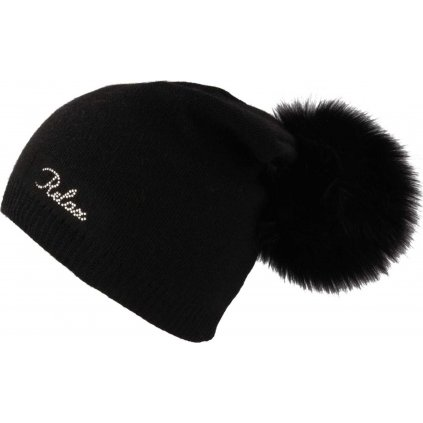 Zimní čepice RELAX Luisa černá