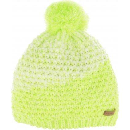 Zimní čepice RELAX Catrina žlutá,bílá