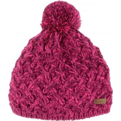 Zimní čepice RELAX Laura fialová