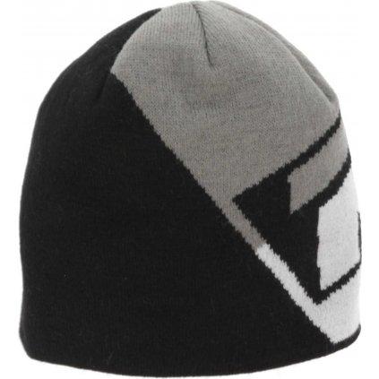 Zimní čepice RELAX Nero černá/šedá