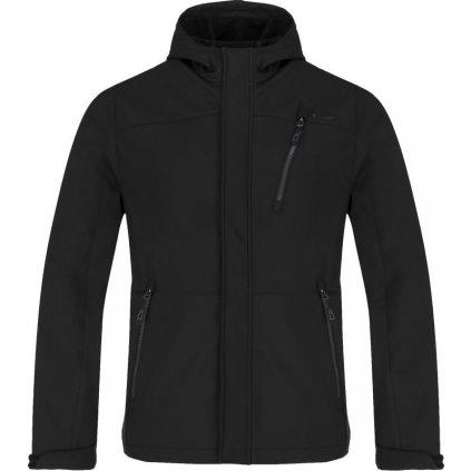 Pánská softshellová bunda LOAP Lombard černá