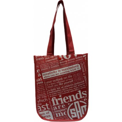 Reklamní taška SAM 73 - malá  Červená